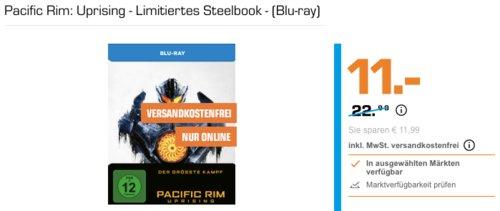 Pacific Rim: Uprising - Limitiertes Steelbook - (Blu-ray) - jetzt 45% billiger