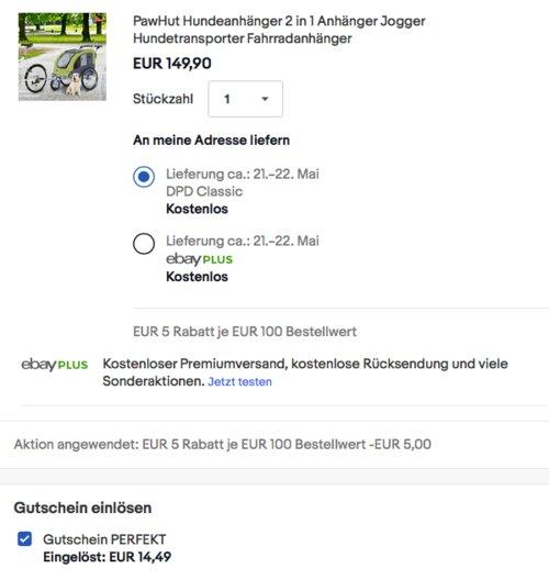 PawHut 2 in 1 Fahrradanhänger/Hundeanhänger, grün - jetzt 13% billiger