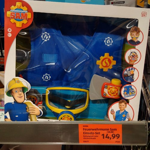 SIMBA Feuerwehrmann Sam Einsatz-Set - jetzt 25% billiger