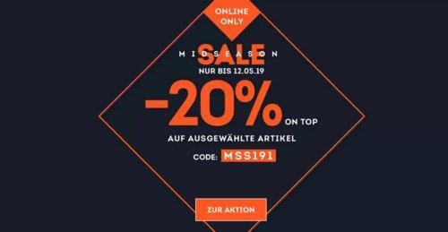 SportScheck.com - 20% Rabatt auf ausgewählte Artikel: z.B. Lekika 2 - Damen Jerseykleid - jetzt 19% billiger