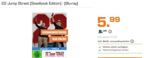 22 Jump Street (Steelbook Edition) - (Blu-ray) - jetzt 33% billiger