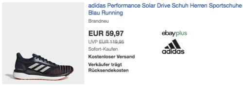 """adidas Performance Herren Laufschuh """"Solar Drive"""", blau (39-38) - jetzt 28% billiger"""