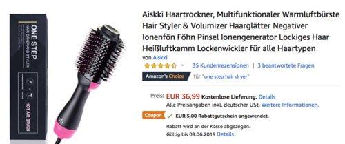 Aiskki Haartrockner & Volumizer - jetzt 14% billiger