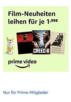 Amazon Prime Video: 42 Film-Neuheiten für je 1,99€ zum Ausleihen - jetzt 50% billiger