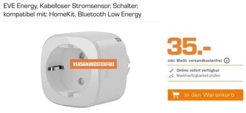 Eve Energy - Smarte Steckdose, kompatibel mit Apple HomeKit - jetzt 30% billiger