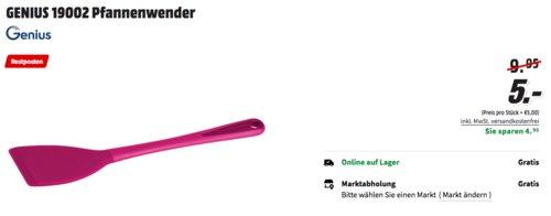 GENIUS 19002 Pfannenwender, pink - jetzt 50% billiger