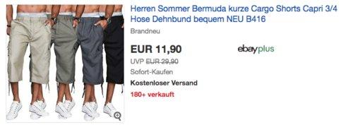 Golden Brands Selection Herren Bermudas B416, versch. Farben und Größen (M-3XL) - jetzt 20% billiger