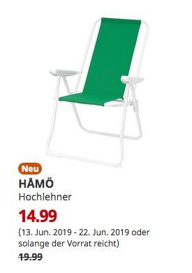 IKEA Hamburg-Schnelsen - HAMÖ Hochlehner, grün - jetzt 25% billiger