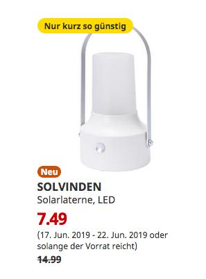 IKEA Magdeburg - SOLVINDEN Solarlaterne, LED, für draußen, weiß - jetzt 50% billiger