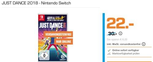 JUST DANCE 2018 - Nintendo Switch - jetzt 15% billiger