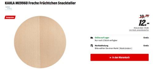 KAHLA ME9960 Freche Früchtchen Holz-Snackteller, 21 cm - jetzt 39% billiger