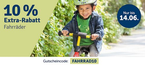 myToys.de 10% Extra-Rabat auf Fahrräder: z.B. PUKY Capt'n Sharky Kinderfahrrad ZL 12 ALU, 12,5 Zoll - jetzt 10% billiger