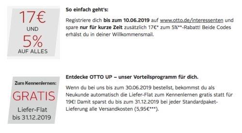 Otto - 17€ Rabatt und 5% auf alles für Neukunden: z.B. OnePlus 7 Pro 6GB+128GB EU GM1913 Smartphone - jetzt 7% billiger