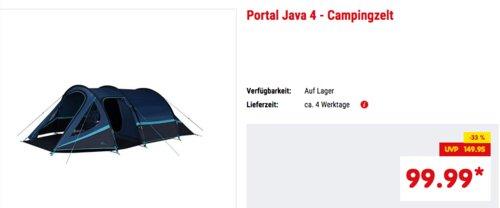 "Portal ""Java 4"" - Campingzelt für 4 Personen - jetzt 18% billiger"
