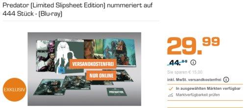 Predator (Limited Slipsheet Edition) nummeriert auf 444 Stück - (Blu-ray) - jetzt 33% billiger