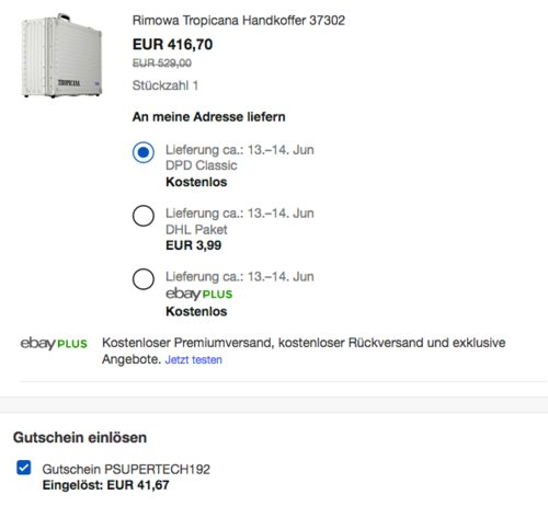 Rimowa Tropicana Rippe 37302 Aluminiumkoffer für DSLR / Systemkamera - jetzt 10% billiger