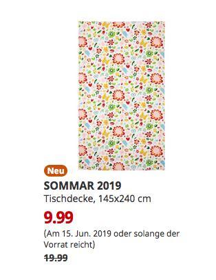 SOMMAR Ludwigsburg - 2019 Tischdecke, bunt, 145x240 cm - jetzt 50% billiger