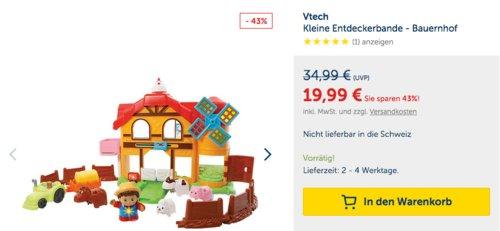 Vtech Kleine Entdeckerbande - Bauernhof - jetzt 21% billiger