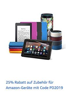 Amazon Prime - 25% Rabatt aufausgewähltes Zubehör für Kindle, Fire und Echo-Geräte: z.B. Amazon Ethernetadapter für Fire TV und Fire TV Stick - jetzt 25% billiger