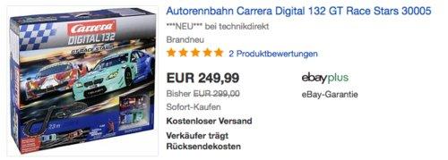 Carrera Digital 132 GT Race Stars 30005 Autorennbahn Komplettset, 1:32 - jetzt 11% billiger