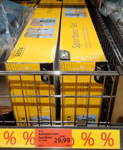 crane® Sportboot-Set - jetzt 25% billiger