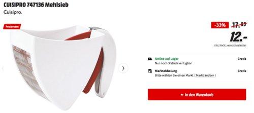 CUISIPRO 747136 Mehlsieb Scoop & Swift - jetzt 33% billiger