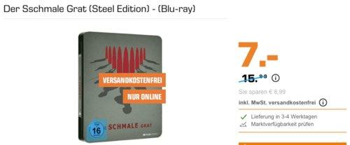 Der Schmale Grat (Steel Edition) Film - (Blu-ray) - jetzt 56% billiger