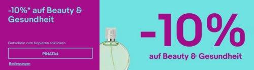 Ebay - 10%-Gutschein für Beauty & Gesundheit: z.B. Arebos Alu-Kosmetikkoffer 32l (36 x 23 x 39 cm) - jetzt 10% billiger