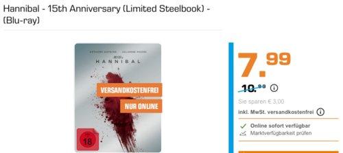 Hannibal - 15th Anniversary (Limited Steelbook) - (Blu-ray) - jetzt 27% billiger