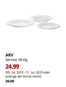IKEA Berlin-Tempelhof - ARV Service 18-tlg., weiß - jetzt 38% billiger