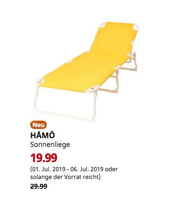 IKEA Chemnitz - HÅMÖ Sonnenliege, gelb - jetzt 33% billiger
