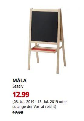 IKEA Düsseldorf - MALA Stativ, Nadelholz, weiß - jetzt 28% billiger