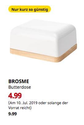 IKEA Hamburg-Altona - BROSME Butterdose, weiß - jetzt 50% billiger