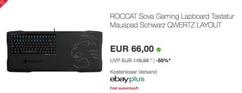 ROCCAT ROC-12-150-DE Sova Gaming Couch Set - jetzt 12% billiger