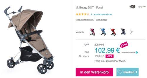 tfk Buggy DOT Buggy/Kinderwagen, versch. Farben - jetzt 13% billiger