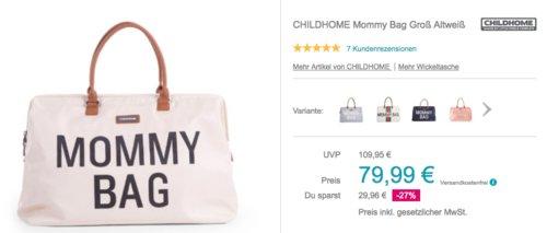 CHILDHOME Mommy Bag Groß (55 x 30 x 30 cm), versch. Farben - jetzt 14% billiger