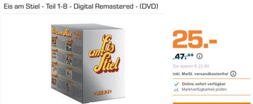 Eis am Stiel - Teil 1-8 - Digital Remastered - (DVD) Box - jetzt 22% billiger