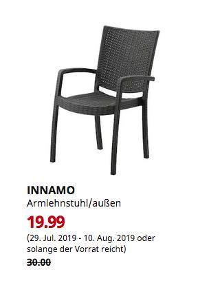 IKEA Bielefeld - INNAMO Armlehnstuhl/außen, dunkelgrau - jetzt 33% billiger