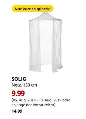 IKEA Hamburg-Schnelsen - SOLIG Netz, weiß, 150 cm - jetzt 33% billiger