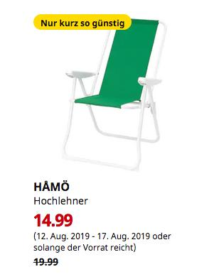 IKEA Kaarst - HAMÖ Hochlehner, grün - jetzt 25% billiger