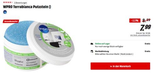 WPRO Terrabianca Putzstein/Universalreiniger für den ganzen Haushalt, 250g - jetzt 11% billiger