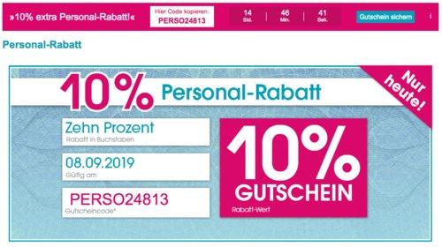 Babymarkt.de - 10% Rabatt auf fast alles am 08.09.19: z.B. 4YOU Flash BTS Rucksack 26 Liter, schwarz/grau - jetzt 10% billiger