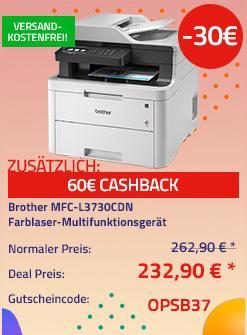 Brother MFC-L3730CDN 4in1 Farblaser-Multifunktionsgerät, A4 - jetzt 11% billiger