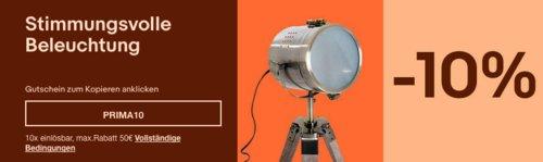 Ebay - 10% Rabatt auf ausgewählte Beleuchtung: z.B. HOMCOM Deckenleuchte mit 3 runden Lampenschirme aus Acryl (DEB31-0110442) - jetzt 10% billiger