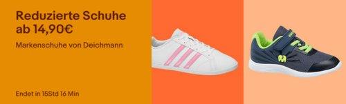 Ebay - reduzierte Markenschuhe von Deichmann: z.B. Adidas Herren Sneaker VS Pace in Grau - jetzt 11% billiger