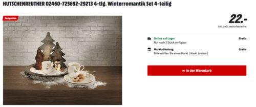 Hutschenreuther Winterromantik Kaffeeservice-Set, 4-tlg. - jetzt 46% billiger