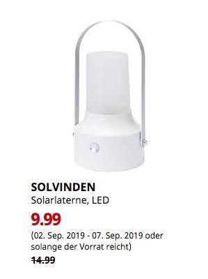 IKEA Chemnitz - SOLVINDEN Solarlaterne, LED, für draußen, weiß - jetzt 33% billiger