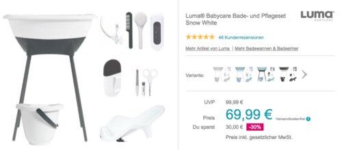 Luma® Babycare Bade- und Pflegeset für Babys, snow white - jetzt 13% billiger