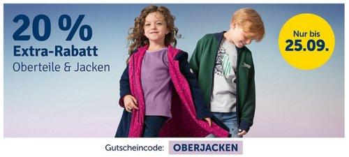 myToys 20 % Extra-Rabatt auf Oberteile und Jacken: z.B.  Reima Wintermantel NAAPURI für Mädchen, gelb (128-164) - jetzt 20% billiger