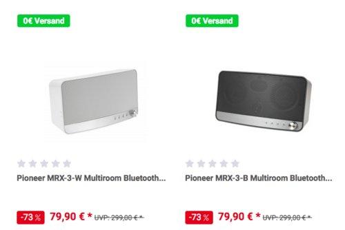 Pioneer MRX-3-W Multiroom Bluetooth Lautsprecher, weiß oder schwarz - jetzt 12% billiger